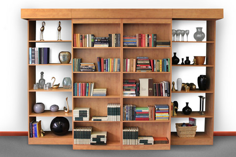 bookcase closed bed concealed bookcase open ben in motion heavy
